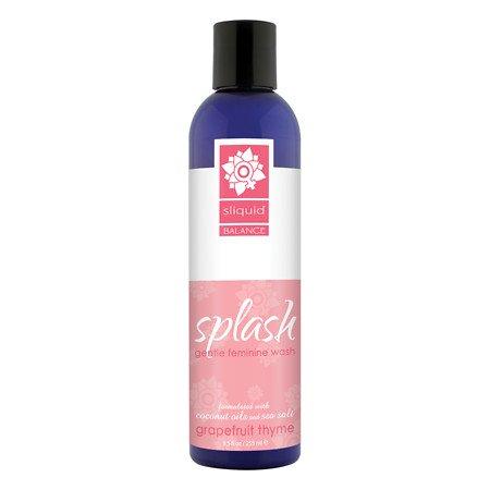 Sliquid - Balance Splash Gentle Feminine Wash Grapefruit Thyme - 8.5 oz.