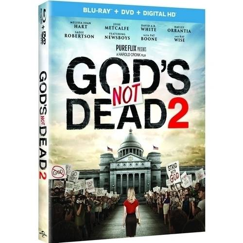 God's Not Dead 2 (Blu-ray + DVD + Digital HD) (With INSTAWATCH)