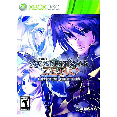 Record of Agarest War: Zero: Limited Edition