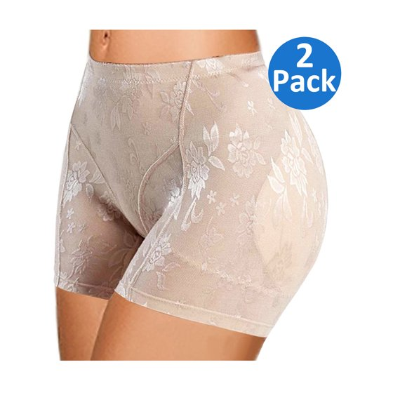 0046c31fa274 SAYFUT - SAYFUT Butt Lifter Padded Panty Enhancing Body Shaper for Women  Shapewear Boyshorts Control Panties | Black Nude | Plus Size - Walmart.com