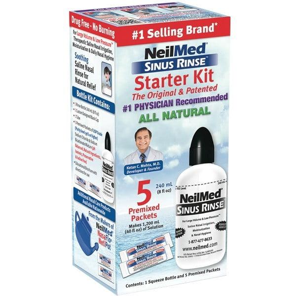 NeilMed Sinus Rinse Starter Kit 1 Each