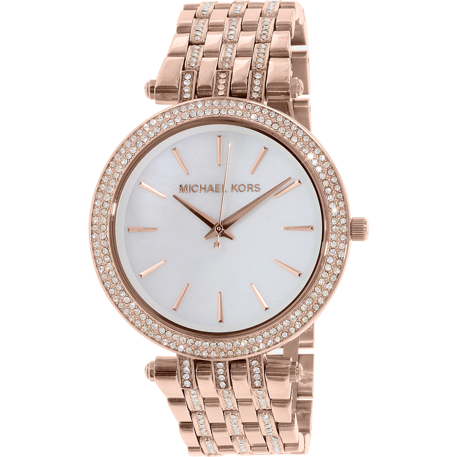 Michael Kors Women's Darci MK3220 Rose Gold Stainless-Steel Plated Japanese Quartz Fashion Watch