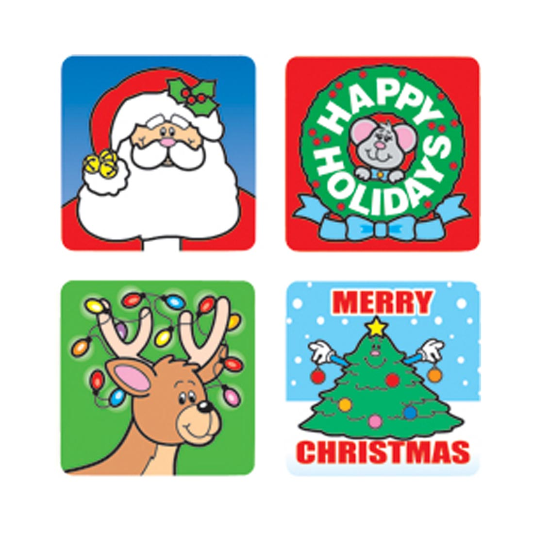 Christmas Stickers by Carson-Dellosa