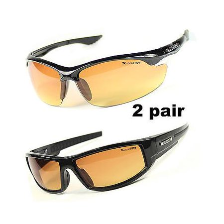 X-Loop HD Sport Golfing Sunglasses Mens Running Night Driving Fishing Glasses ()