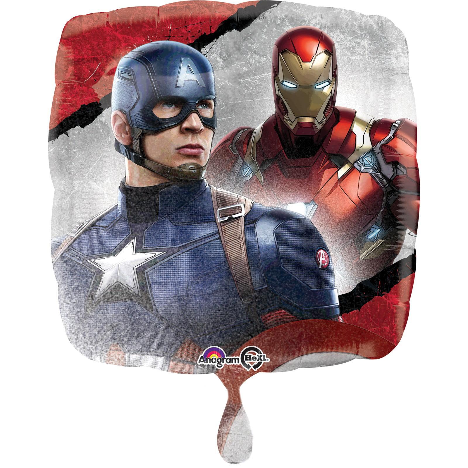 Captain America Civil War Foil Balloon