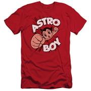 Astro Boy Flying Mens Slim Fit Shirt