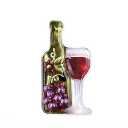 Demdaco - Glass Fusion Pop-In - Wine Bottle 1