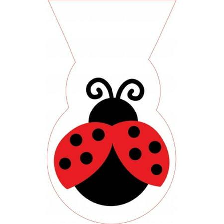 LadyBug Fancy Treat Bags - Ladybug Treat Bags
