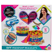 Cra-Z-Art Be Inspired BFF Friendship Bracelet Making Kit - Multiple Colors
