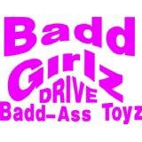 Custom Decal Badd Girlz Drive - Girls Bed Room - Picture Art - Peel & Stick Vinyl Wall Decal Sticker 10x10