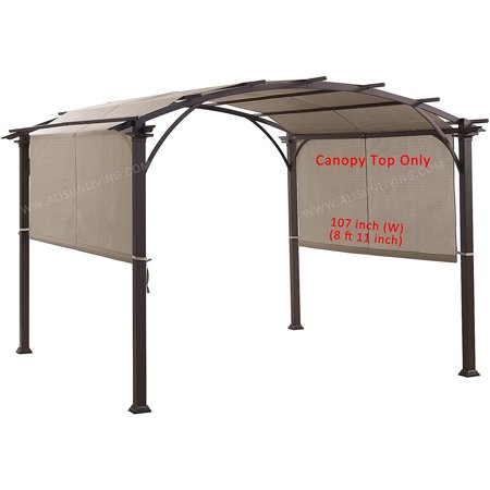 Sling Canopy With Ties For The Lowe S Garden Treasures 10 Ft X