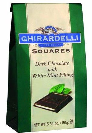 Ghirardelli Chocolate Squares Dark & Mint Dark Chocolate, 5.32 oz by Generic