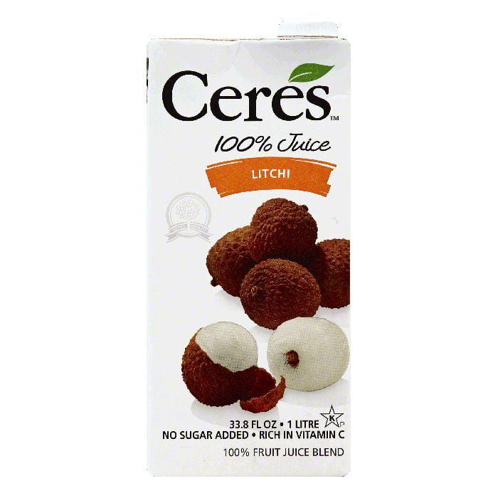Ceres Litchi 100% Juice, 33.8 Oz (Pack of 12)