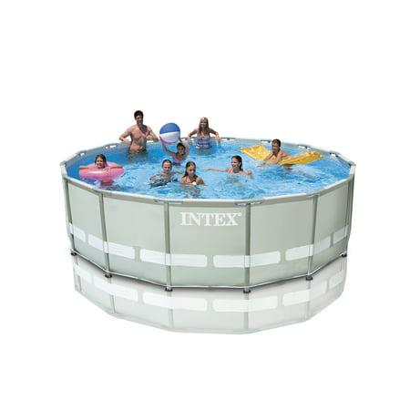 Intex 16 39 X 48 Ultra Frame Swimming Pool Set W 1500 Gph