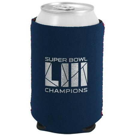 New England Patriots Super Bowl LIII Champions Can Cooler - No Size