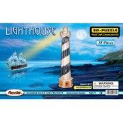 Light House - 3D Jigsaw Woodcraft Kit Wooden Puzzle