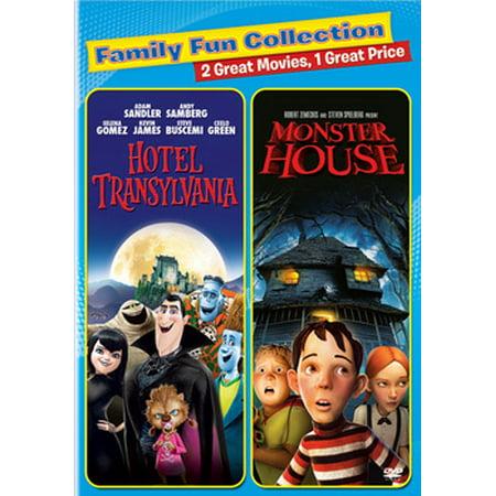 Hotel Transylvania Monster House DVD