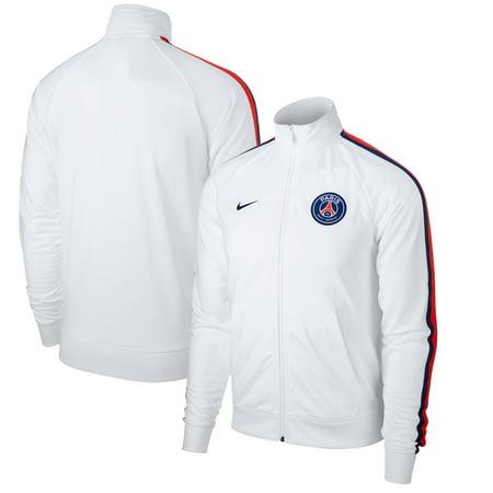 the latest 3590a 731d2 Nike - Paris Saint-Germain Nike Penalty Kick Crew Full-Zip Performance  Jacket - White - Walmart.com