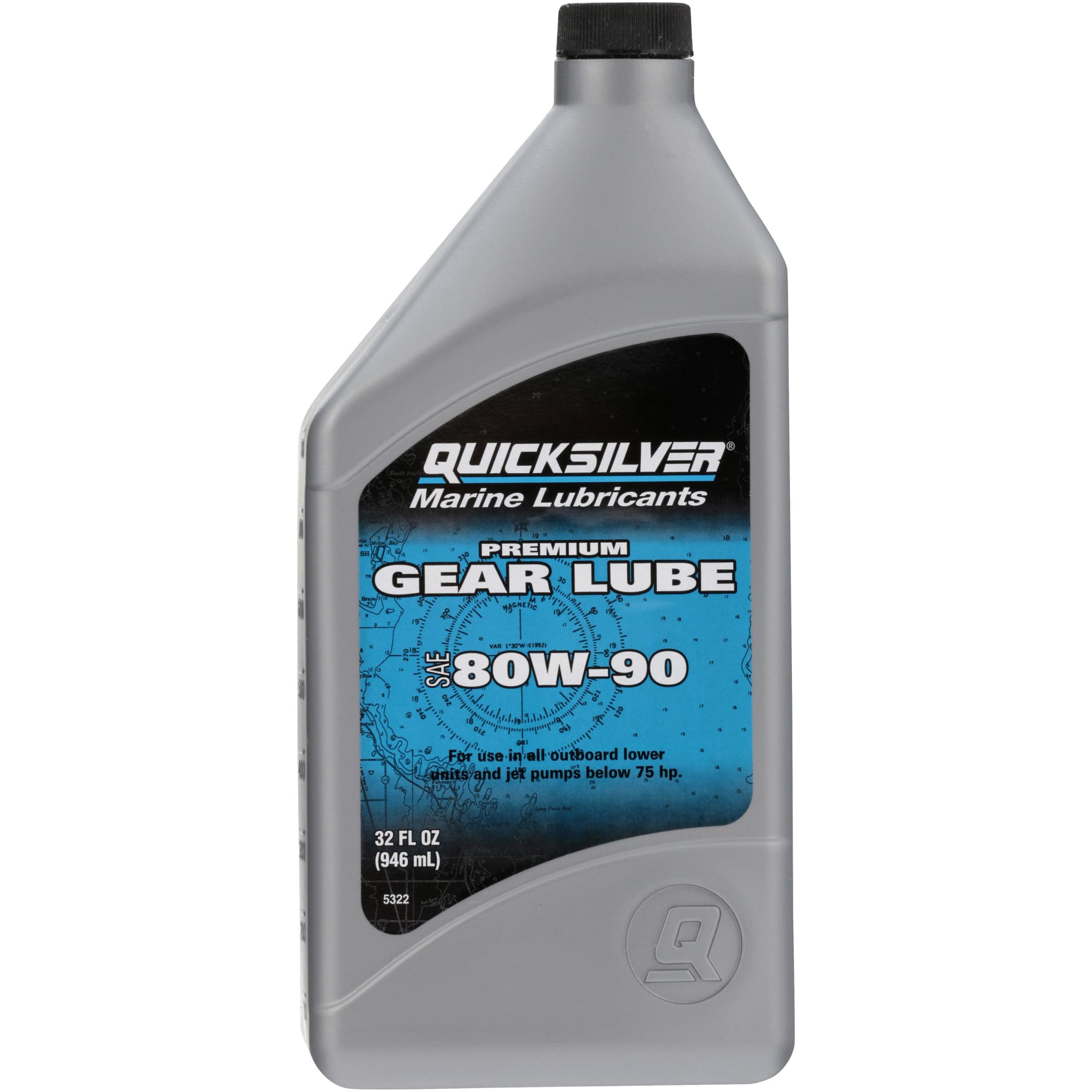 Mercury Premium 80w - 90 Gear Lube, 32 oz.