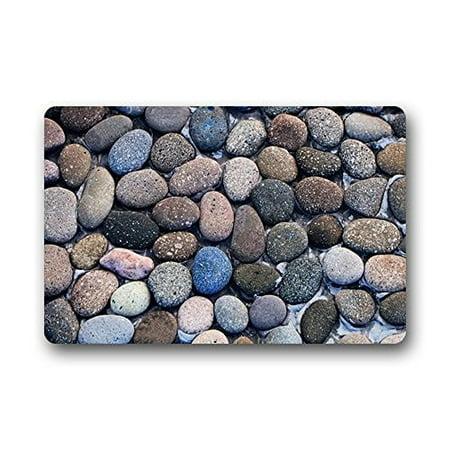 Cobblestone Mat (WinHome Cobblestones Doormat Floor Mats Rugs Outdoors/Indoor Doormat Size 30x18 inches)