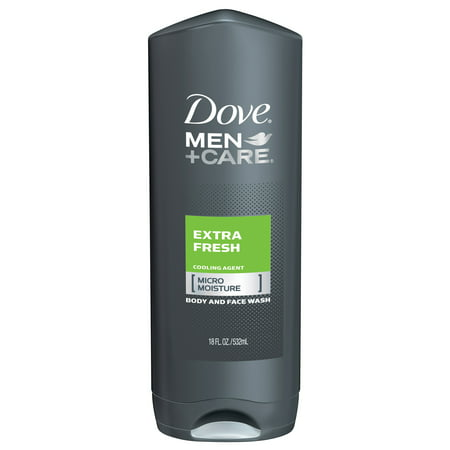 (Dove Men+Care Extra Fresh Body Wash, 18 oz)