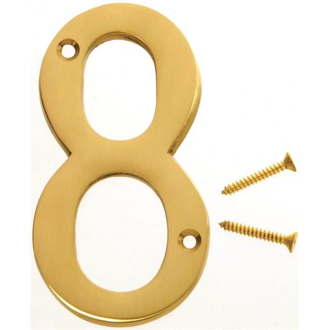 Hy-Ko Products 0251215 Decorative House Number, 8