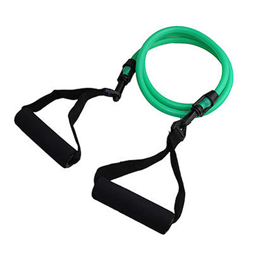 Fitness Equipment Resistance Band Tube Workout Yoga Training Exercise Rope