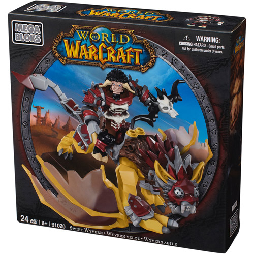 Mega Bloks World of Warcraft Swift Wyvern Set #91020