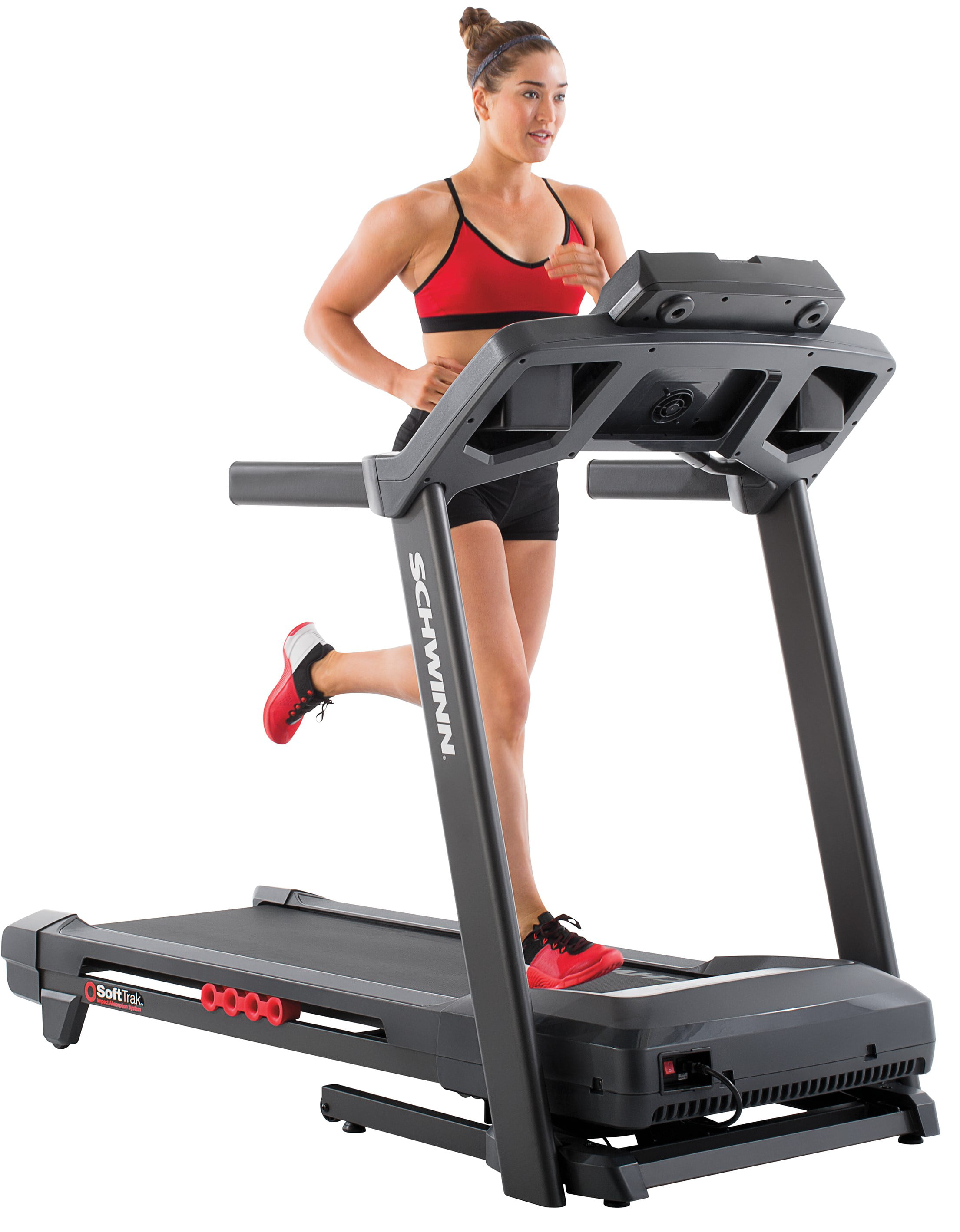 Schwinn 830 Treadmill Heart Rate Enabled Treadmill with Quick Goals Tracking & 12% Incline by Schwinn