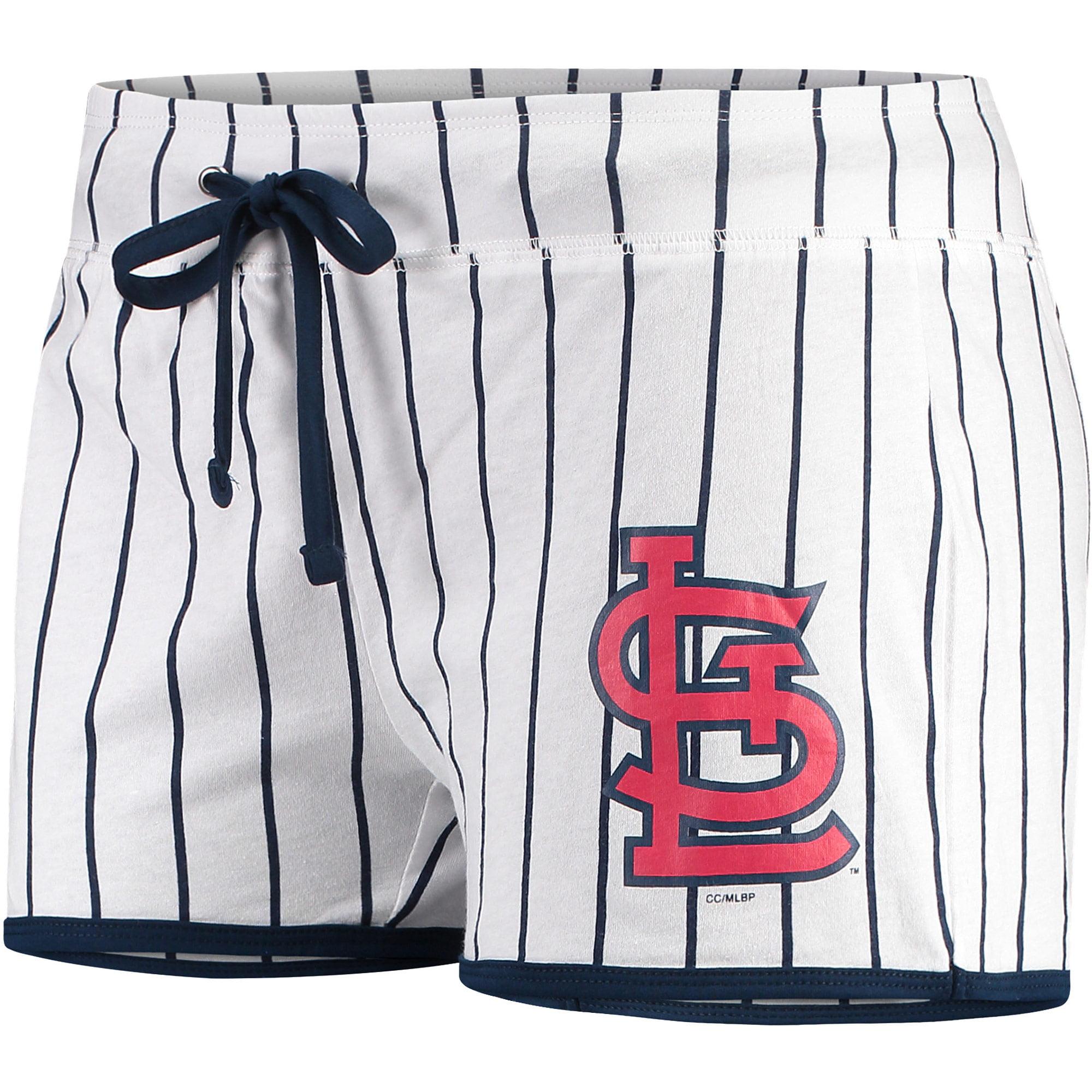St. Louis Cardinals Concepts Sport Women's Vigor Sleep Shorts - White/Navy