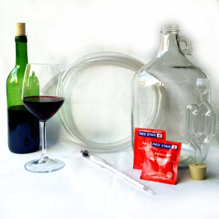 (Artisan DIY Fruit Juice Wine Making Kit - Learn how to make home made wines)