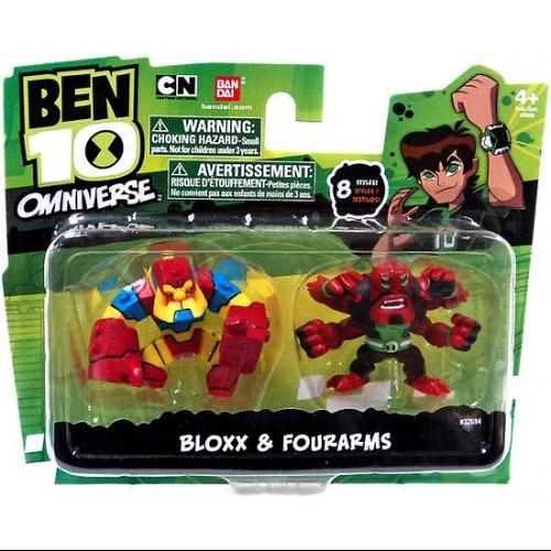 "Ben 10 Omniverse Bloxx & Four Arms 2"" Mini Figure 2-Pack"
