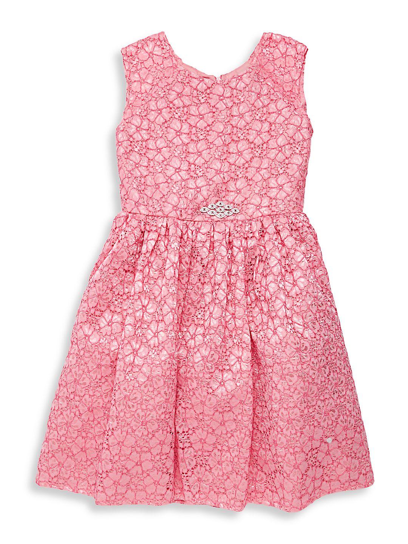 Girl's Rebecca Lace Dress