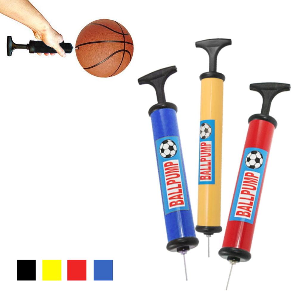 3 Sports Ball Air Pump Manual Hand Inflate Basketball Football Volleyball Needle