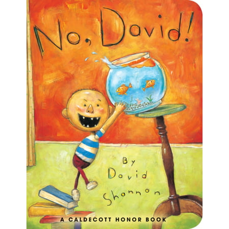 David New Book - No David (Board Book)