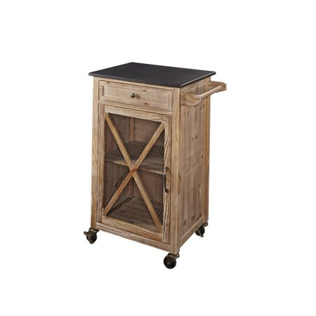 Ez Cart - Linon Westgate Kitchen Cart EZ Assembly