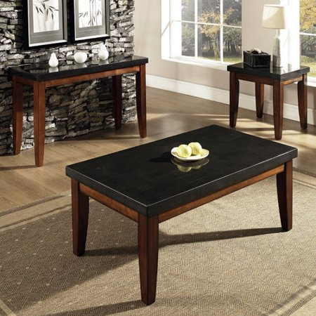 Steve Silver Furniture Granite Bello Coffee Table Set