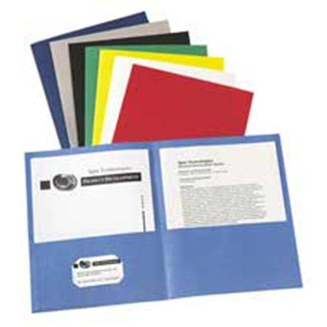Avery Consumer Products AVE47992 Two Pocket folder- 8-.50in.x11in.- W-O Fasteners- Yellow