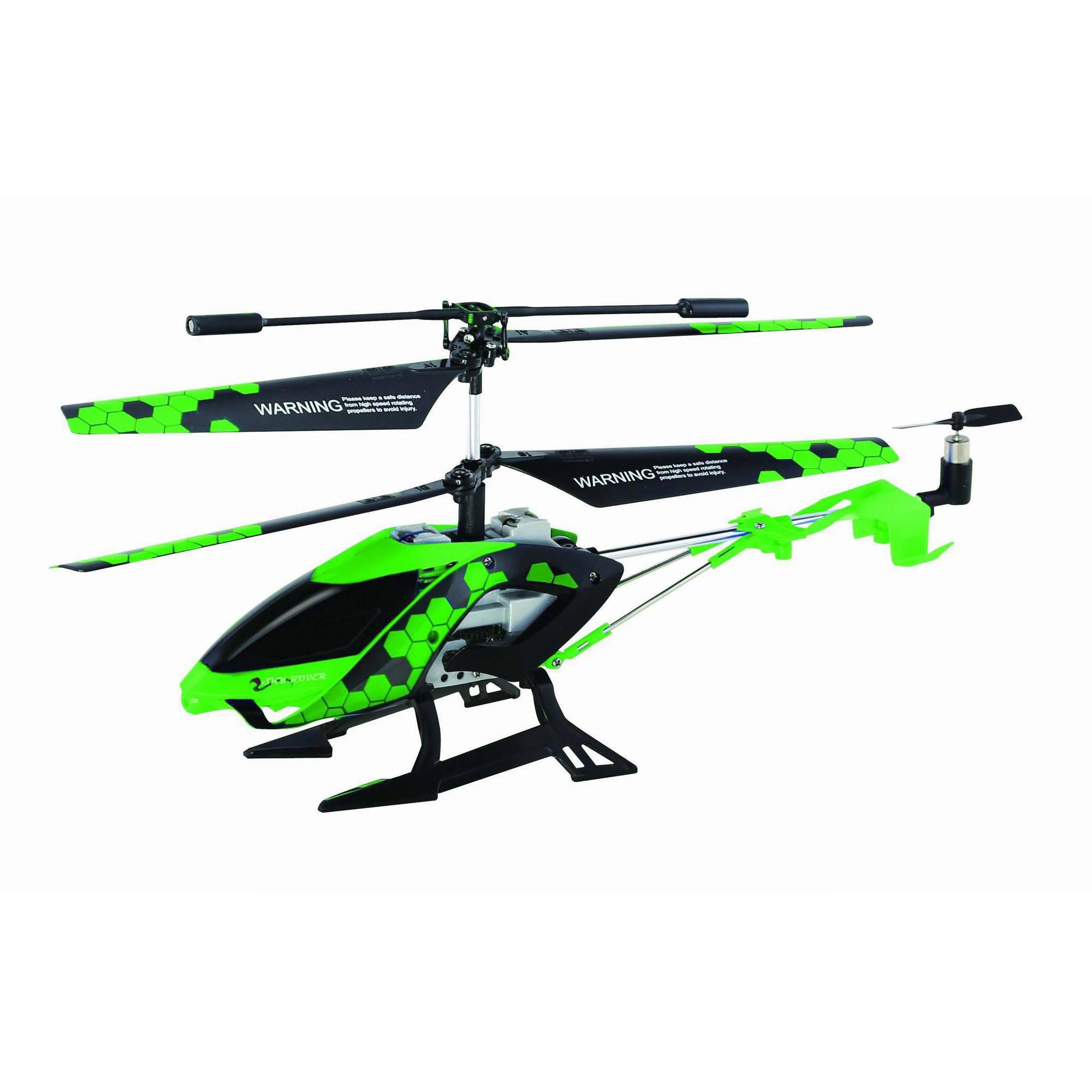 Stalker Auldey Sky Rover Indoor Helicopter, Green