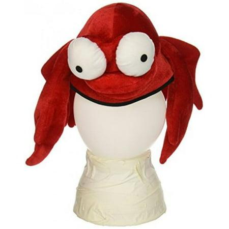 Plush Crab Hat Party Accessory (1 count) (1/Pkg) - Crab Party