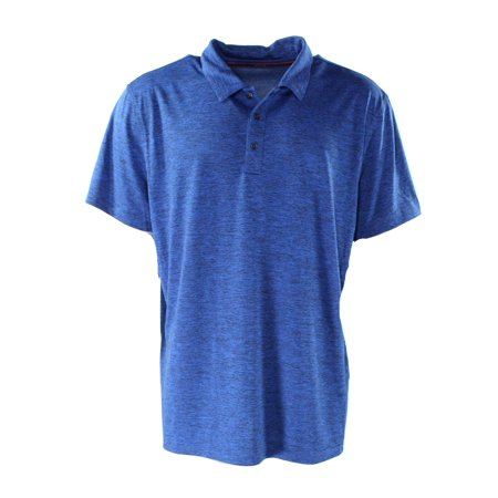 abf43fac2 Alfani - Alfani NEW Blue Mens Size Medium M Slim-Fit Performance Polo Shirt  - Walmart.com