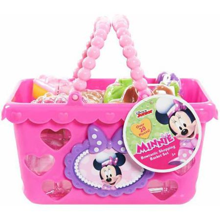 Minnie Bow Tique Shopping Basket Set