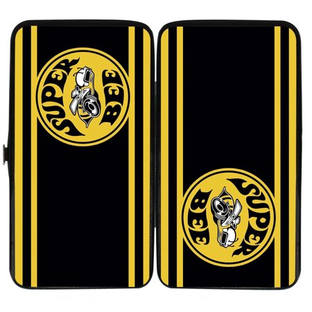 Dodge Automobile Company Super Bee Stripes Hinged Wallet