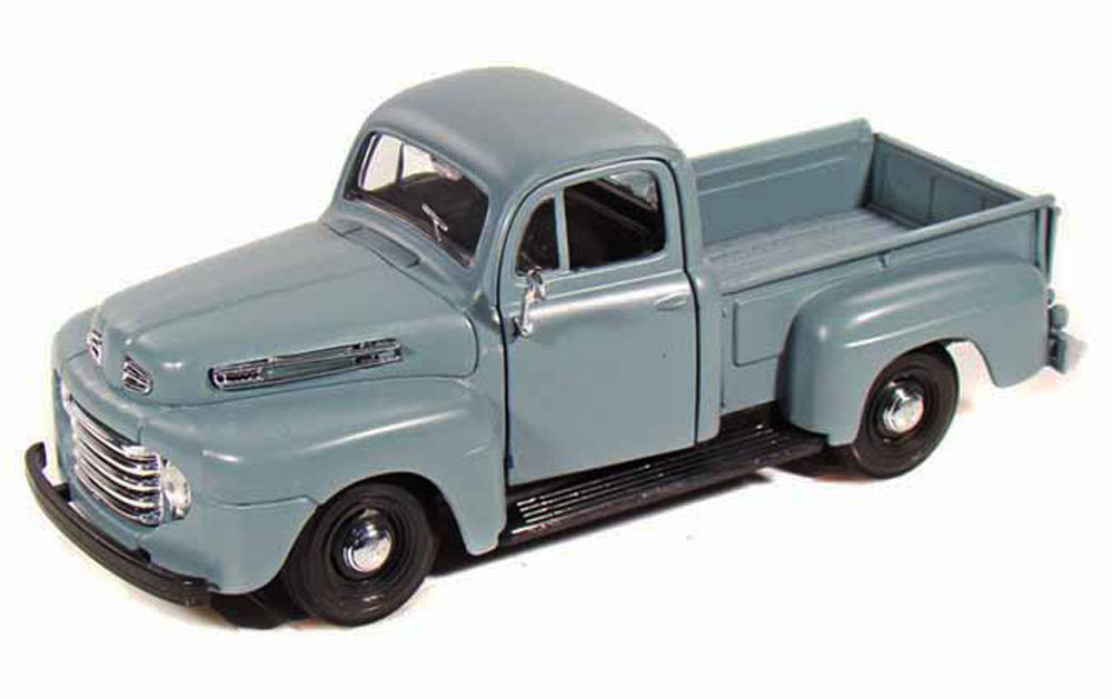 1948 Ford F-1 Pickup Truck, Blue Maisto 31935 1 25 Scale Diecast Model Toy Car by Maisto