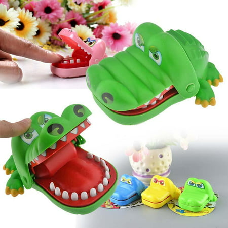 Bite Finger Crocodile Board Game Crazy Crocodile Pulling Teeth Kids Puzzle Toy Bar Family Party Game Xmas Children Best Gift ()