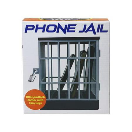 Kole Imports UU907-4 Phone Jail with Lock - Case of 4 - image 1 de 1