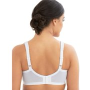 7045e3277af10 Glamorise - Womens Plus ComfortLift Rose Lace Bra