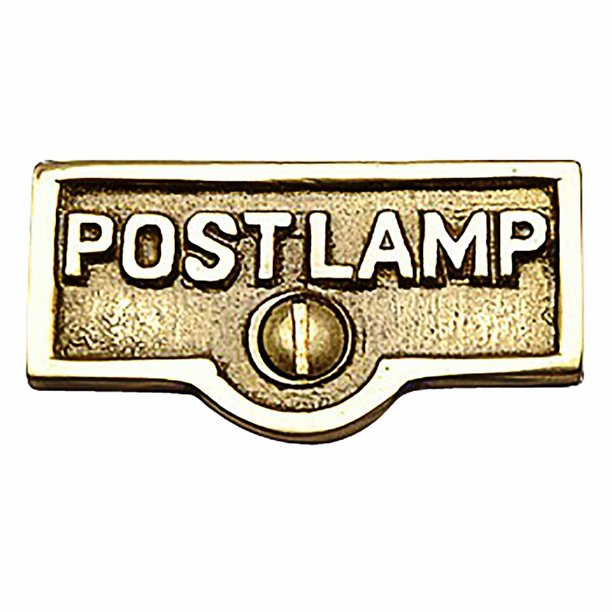 Switch Plate Tags Post Lamp Name Signs Labels Brass Renovator S Supply Walmart Com Walmart Com