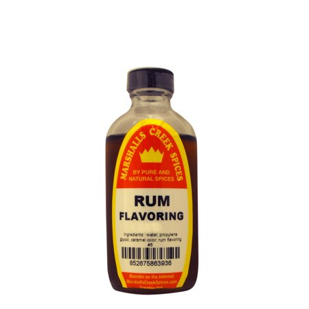 Marshalls Creek Spices RUM FLAVORING  4 oz