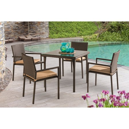 Sunnest Lila Wicker Patio Dining Set Product Picture
